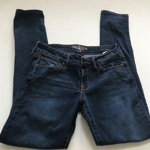 Lucky Brand Womens Leyla Skinny Ankle Jeans